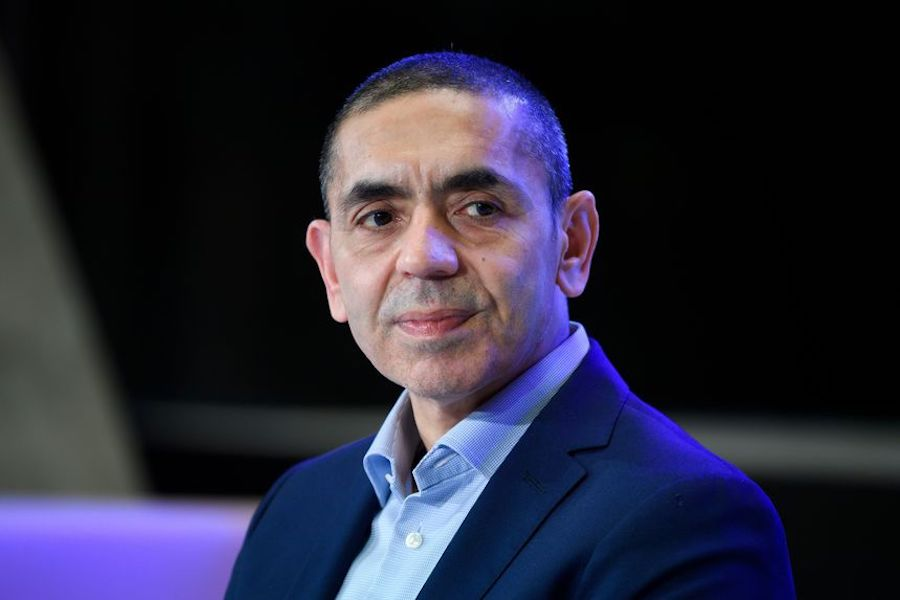 BioNTech Chief Executive Ugur Sahin